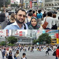 The famous Shibuya Crossing in #Tokyo a sight to behold and see just how busy it is with people crossing from all ends when traffic comes to a standstill on the red light. Can't forget a #selfie as well. #Japan #YHGoes2JP #Asia #layout #travel - July 06 2016 at 06:31AM