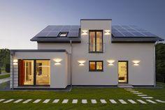 Oslo, Brick Patios, Solar Panels, Ideas Para, Outdoor Decor, Houses, Home Decor, Modern, Construction Materials
