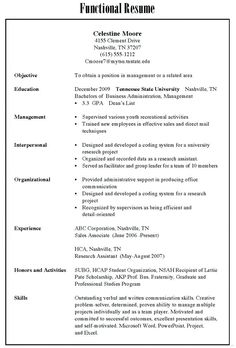 Resume Types 1565 Best Resume Format Images On Pinterest  Cv Format Resume