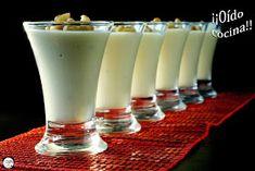 ¡¡Oído cocina!!: Aperitivo de Navidad en vasitos Flan, Glass Of Milk, Catering, Sandwiches, Food And Drink, Pudding, Healthy Recipes, Dishes, Drinks