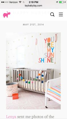 Cheddas nursery inspiration - maybe make this banner? And use this color scheme?