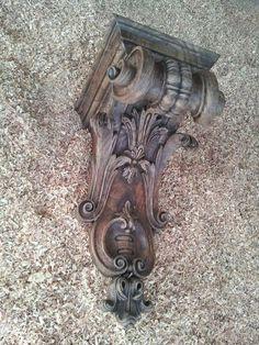 Talha escultura Júlio Leal: Misula.