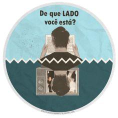 Suas escolhas formam seu caráter. Arte para post do blog Bibliotecas do Brasil por Juliano Rocha. http://www.bibliotecasdobrasil.com