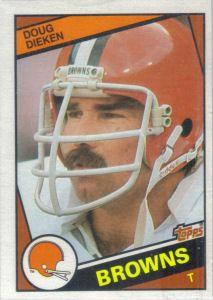 Doug Dieken 1984 Topps #52 football card Sport Football, Football Cards, Football Helmets, Cleveland Browns History, Cleveland Browns Football, Dog Pounds, Browns Fans, Football Conference, National Football League