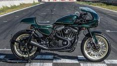 Harley-Davidson Sporster Cafe Racer by HARLEY-DAVIDSON LAS PALMAS - GUBRA for Battle for the Kings #motorcycles #caferacer #motos | caferacerpasion.com