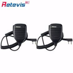 Walkie Talkie Baofeng Speaker MIC For Kenwood TYT Pofung Handheld UV5r KD