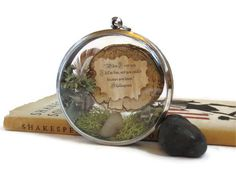When I Saw you I Fell in Love.... Message in a by FaerieNest, $34.00
