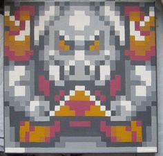 Pig Demon Statue by pixelartpaintings on Etsy, $40.00