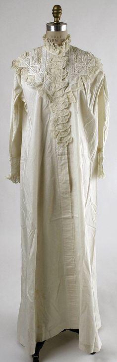 Lingerie  B. Altman & Co. (American, 1865–1990)  Date: 1881