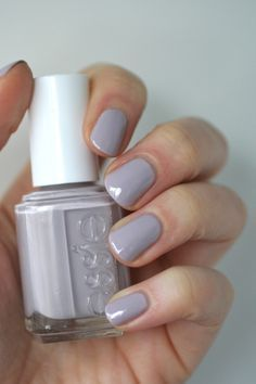A manicure is a cosmetic elegance therapy for the finger nails and hands. A manicure could deal with just the hands, just the nails, or Essie Nail Polish, Nail Polish Colors, Gel Polish, Purple Nail Polish, Gel Nail, Acrylic Nails, Cute Nails, Pretty Nails, Hair And Nails