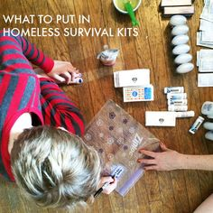 How to Make Care Kits for Homeless People - Mighty Girl - A project to take on. Object Lessons, Bible Lessons, Blessing Bags, Mighty Girl, Small Acts Of Kindness, Tactical Patches, Bazaar Ideas, Homeless People, Survival Prepping