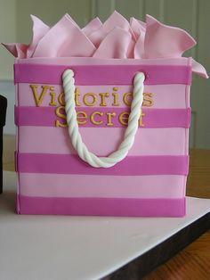 Victoria's Secret bag cake
