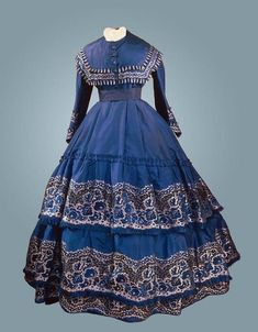 Dress c.1864 State Hermitage Museum