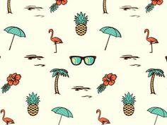 summer #pattern #seamless
