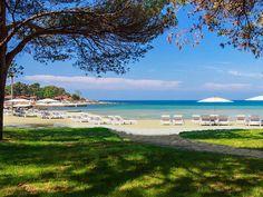 Stella Maris beach, Umag, Croatia #croatia #beach #umag