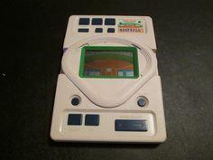 Radio Shack Baseball Electronic Handheld Game by FriendsRetro on Etsy