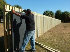Acoustifence® was originally developed by the Acoustiblok corporation for offshore oil rig noise isolation, the Acoustifence has had proven success in many demanding applications. Backyard Fences, Garden Fencing, Backyard Landscaping, Vie Simple, Pallet Fence, Gabion Fence, Diy Fence, Fencing Material, The Neighbor