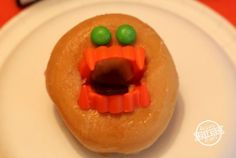 Monster Donut: Simple, easy, and funny for Halloween! Sounds great for Room Moms planning class parties or family fun. We've always looked at Halloween as something fun. We have never done anything scary. These teeth are about as much as we've pushed the limits around here. Supplies needed: plastic monster teeth (any color), candy Skittles …