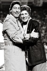Jimmy V and Kay Yow. 2 of the NC State Wolfpack's Finest!