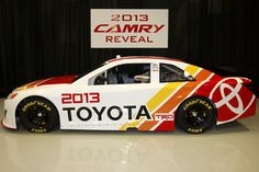 Today Toyota unveiled the Camry that will run in the 2013 NASCAR Sprint Cup Series