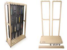 Book Storage, Storage Spaces, Wardrobe Rack, Shelving, Bookcase, Fabric, Design, Home Decor, Shelves