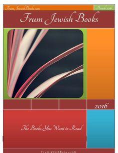 Pesach 2016 issue of Frum Jewish Books magazine #Jewish #books #reviews #literature