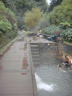 Furnas, Sao Miguel, Azores.  Thermal pools.