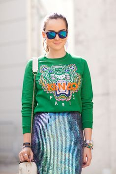 Street Style Trend Report: Spring 2013- Sweat Chic