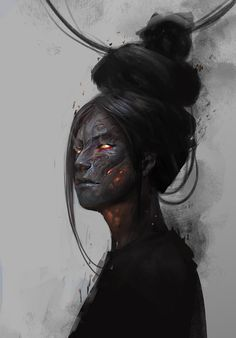 r/ImaginaryHumans: humans in fantasy art Dark Fantasy Art, Dark Art, Fantasy Character Design, Character Design Inspiration, Character Art, Arte Horror, Maquillage Halloween, Character Portraits, Fantasy Characters