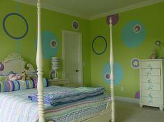 Polka Dot Bedroom Ideas | Polka Dot Room Wall Ideas polka-dots