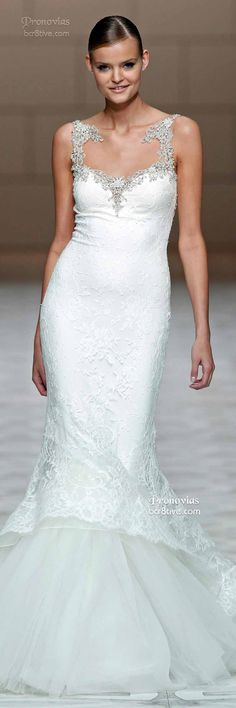 Pronovias: Barcelona Bridal Week Spring 2015