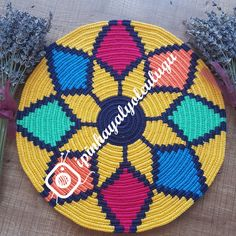 Today's 'crochet in the home' pic showcases this amazing. (Mingky Tinky Tiger + the Biddle Diddle Dee - Salvabrani Crochet Chart, Crochet Motif, Knit Crochet, Yarn Crafts, Diy And Crafts, Tapestry Crochet Patterns, Crochet Shoes, Crochet Projects, Handmade