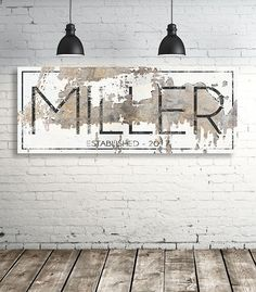 Vintage Farmhouse Decor Modern Last Name Sign - Personalized Family Name Wall Art - Modern Farmhouse Wall Art - Est Name Sign - Wedding Gift Interior Design Minimalist, Modern House Design, Minimalist Art, Farmhouse Wall Art, Modern Farmhouse, Vintage Farmhouse, American Farmhouse, Farmhouse Design, Modern Rustic