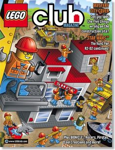 Sign up for a FREE 2-year subscription to LEGO magazine. My kids LOVE this magazine!