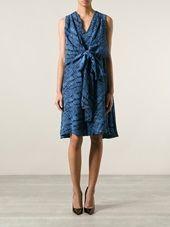 Kenzo - wrap front dress