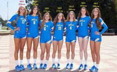 The UCLA's vball women team by zaratustraelsabio on DeviantArt Volleyball Tips, Female Volleyball Players, Volleyball Outfits, Volleyball Shorts, Volleyball Pictures, Women Volleyball, Tall Women Fashion, Sporty Girls, Athletic Women