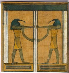 Anubis holds the gates to the afterlife