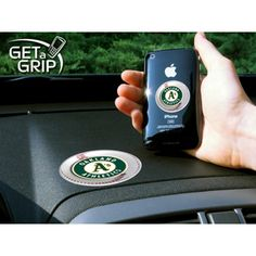 Oakland Athletics MLB Get a Grip Cell Phone Grip Accessory