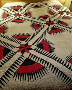 New York Beauty old quilt from the family of Karen Vinyard