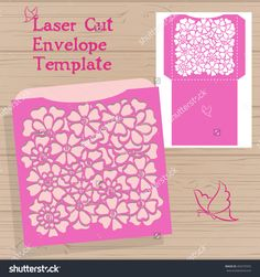 stock-vector-lazercut-vector-wedding-invitation-template-vector-die-laser-cut-envelope-template-wedding-492570355.jpg (1500×1600)