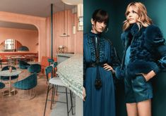 Teal is the must-watch color for 2019 and we will share why on today's post. See 6 examples who the color used in fashion and interior design. Colour Schemes, Color Trends, Color Combinations, Design Trends, Trending Paint Colors, Warm And Cool Colors, Milan Design, Color Of The Year, Mid Century Furniture