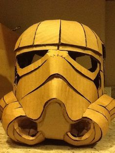 Picture of Cardboard Stormtrooper Helmet