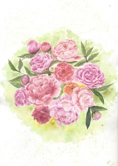 Excited to share the latest addition to my #etsy shop: Peony Watercolor painting Watercolor pink flowers watercolour bouquet peony painting original painting flower wall art flower floral decor #iskusstvo #kartiny #rozovyj #watercolorpainting #originalpaintings #peonywatercolor #pinkflowers #flowerswatercolour http://etsy.me/2GKWjbs