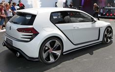Volkswagen GTI Design Vision - lujo, pasión, motor