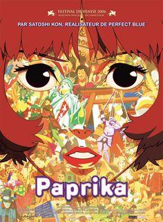 Paprika. Satoshi Kon. The design of the poster is still very striking to me.