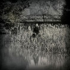 Still from The Innocents (1961) -film based on the Turn of the Screw. Haunting!
