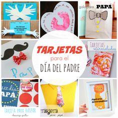 tarjetas para el dia del padre hechas por los ninos