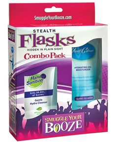 Smuggle Your Booze Hand Cream Combo Pack www.PlayingNaughty.com Dare to Be Naughty? #PlayingNaughty #SexToys #Relationships #Intimacy #Sex #Vibrator #Dildo #Bondage #BDSM #Kink