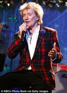 Rod Stewart, 70, has managed to sneak his new record onto the Radio 1 playlist