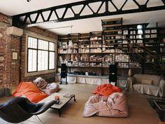 Loft style.